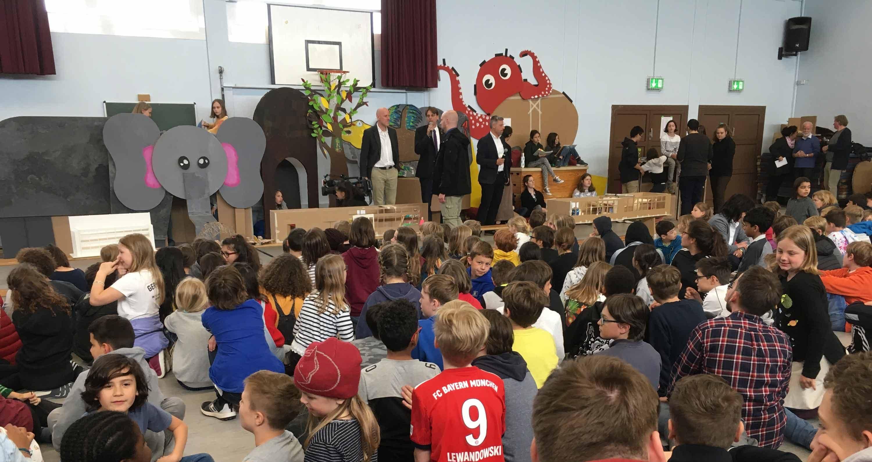 Coole Schule in Neukölln