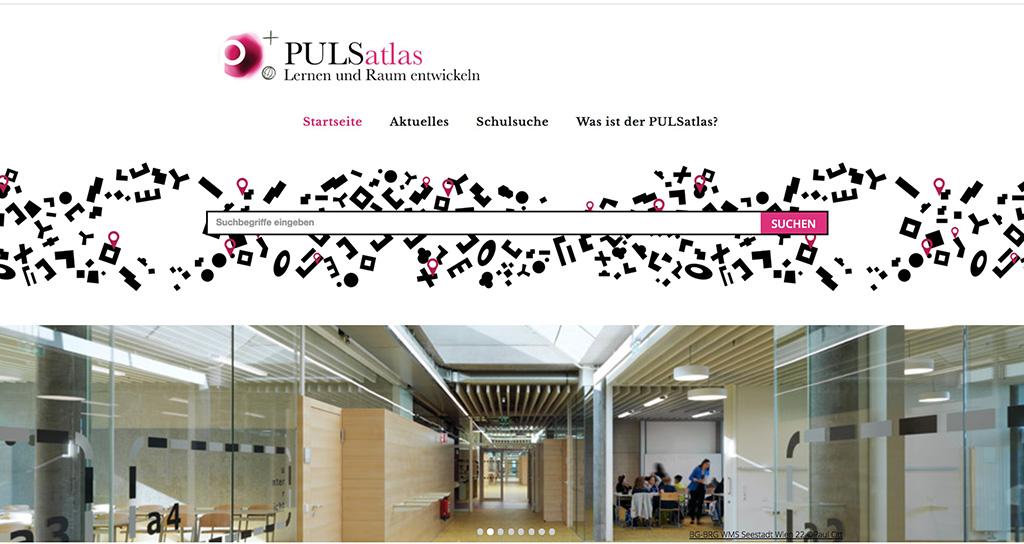 PULSatlas – Schulbauten nun online
